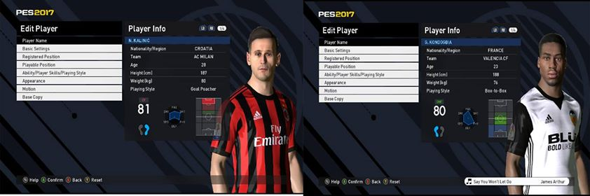 PES 2017 Option File For PES Professionals Patch 2017 V3.4 By Ozink
