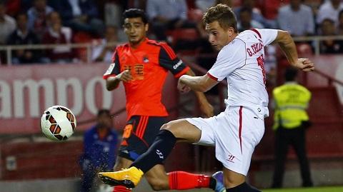 Mùa giải vừa rồi, Gerard Deulofeu đã đến Sevilla học việc.