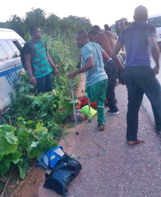Nigeria Amputee Football Team In Ghastly Car Crash En-route Abuja For Visa (Photos)