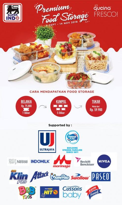 Superindo - Promo Tukar 5 Stiker Super Koleksi Vetro Food Storage Qucina Fresco