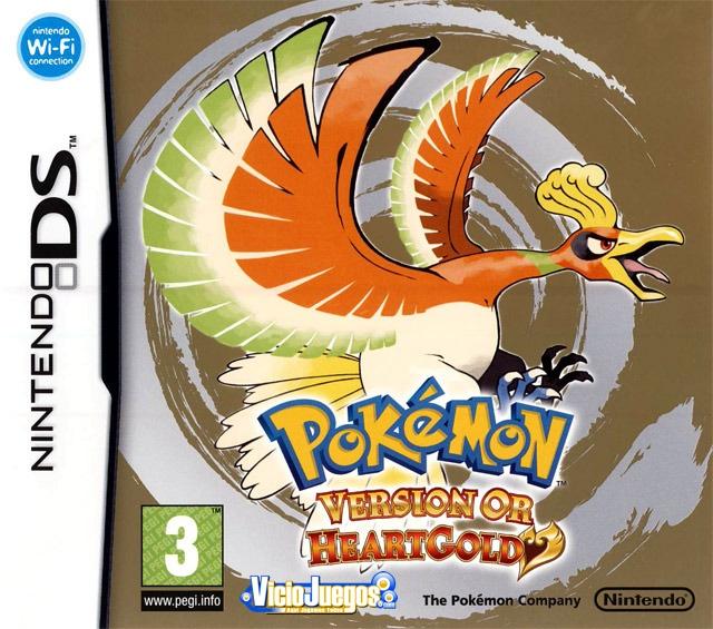 Resultado de imagen para Pokemon HeartGold [NDS] [Español] [Mf]