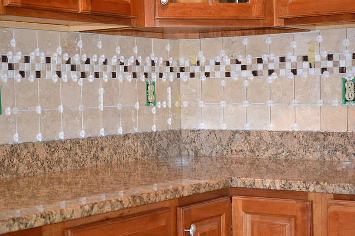 Re Tiling A Kitchen Countertop