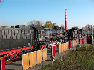 Музей паравозов в Бресте