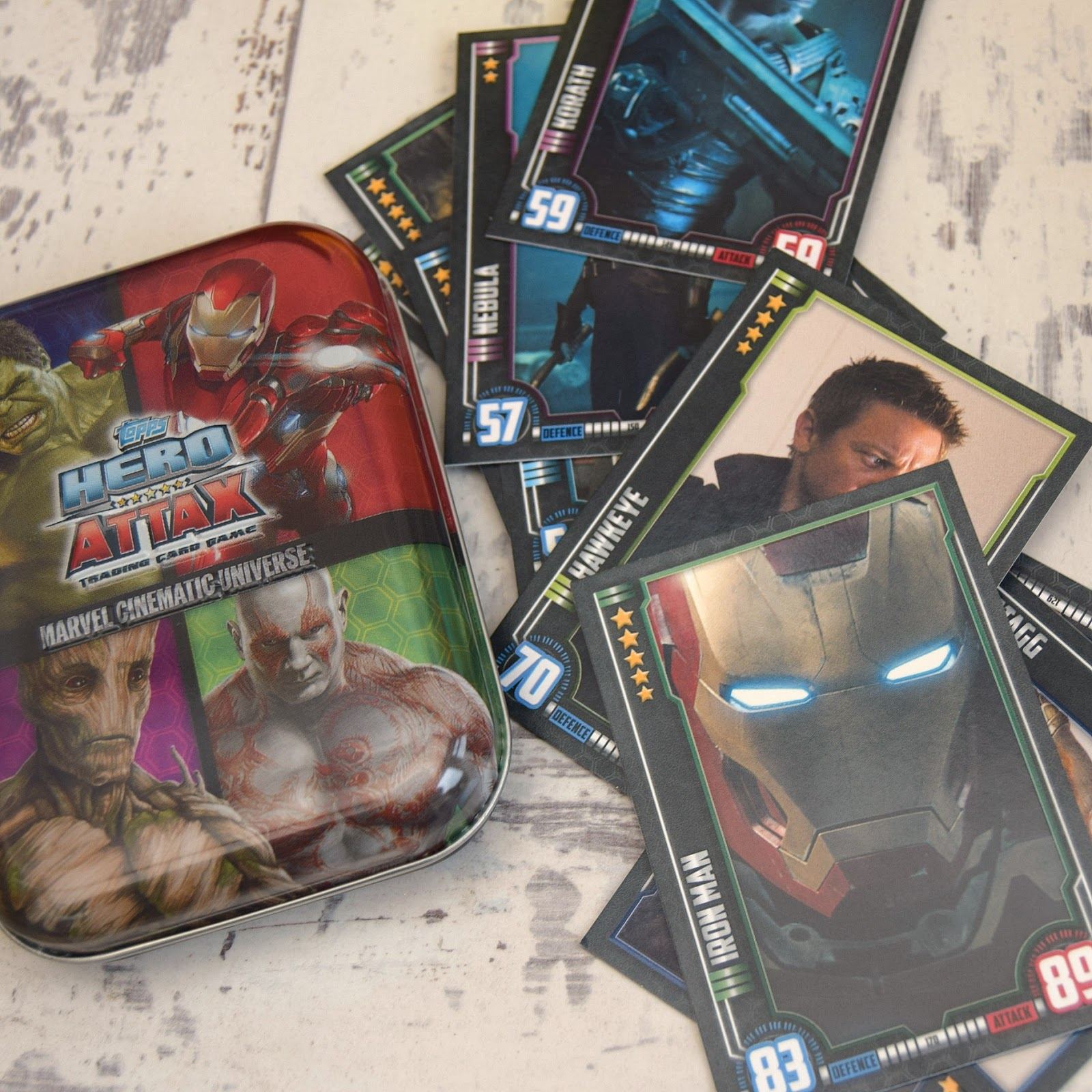 TOPPS HERO ATTAX SERIES 1 AND 2 MOVIE CARDS  ....CHOOSE