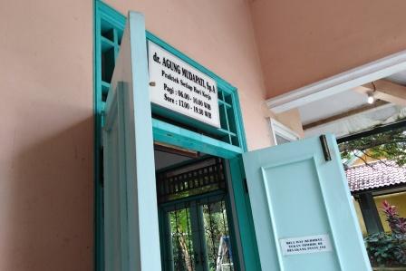 Ruang praktek dr Agung Mudapati, Sp.A