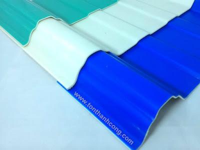 Tôn Nhựa Kháng Ăn Mòn - Chống Hóa Chất PVC