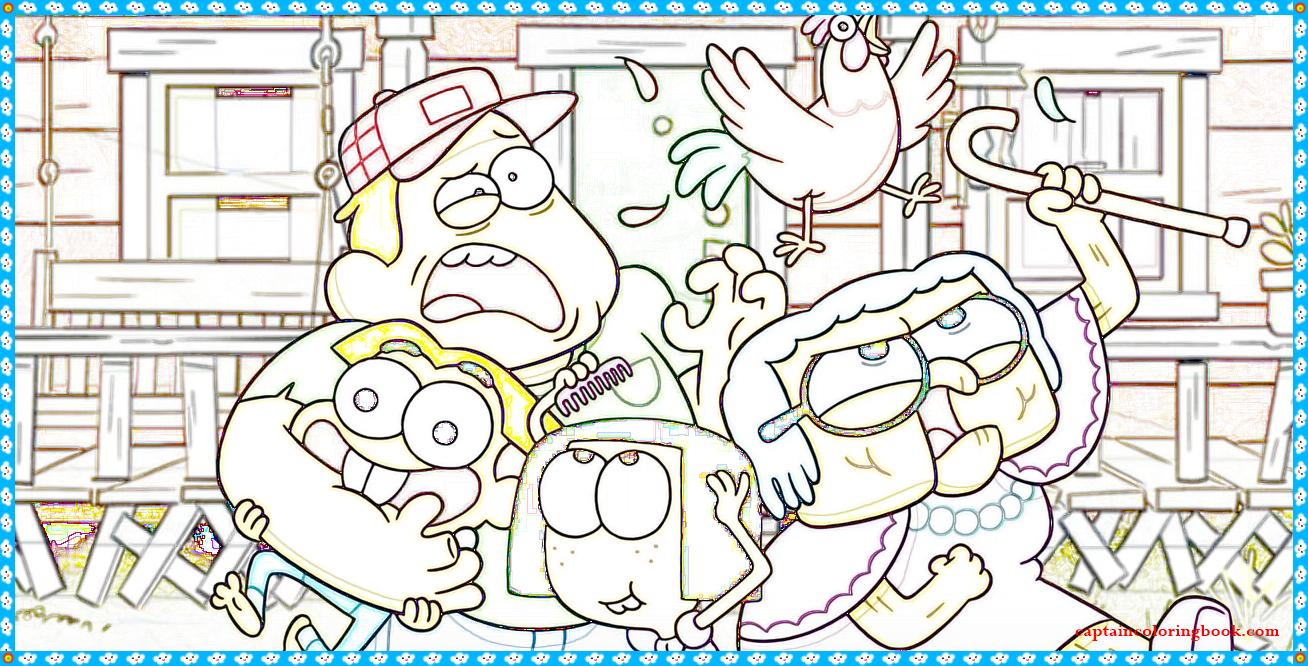 Big City Greens Coloring Page Coloring Page