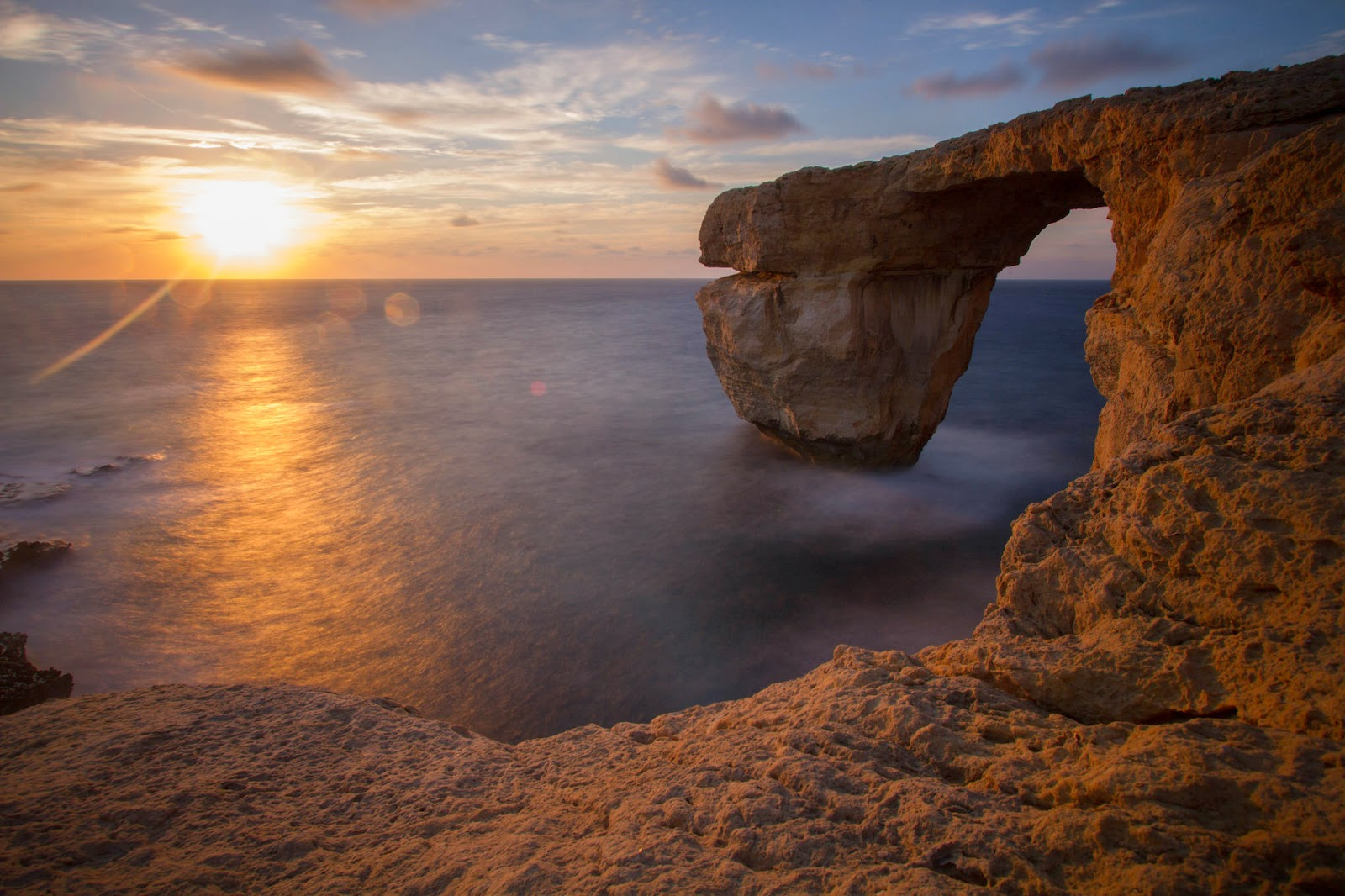 #13. The Azur Window in Malta. - 19 Secret Travel Destinations You Never Knew Existed… Almost Nobody Knows About #17.