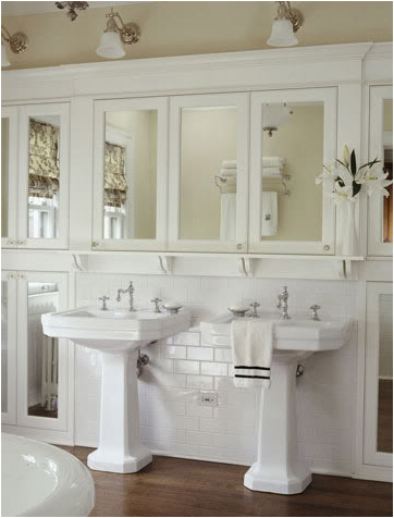 suscapea: Cottage Style Bathroom Design Ideas