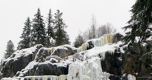Washington Ice Climbing