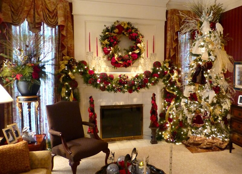 how to decorate your home for christmas, christmas house decorations outside, christmas decoration ideas pinterest, homemade christmas decoration ideas, traditional christmas decorating ideas, pictures of homes decorated for christmas on the inside, christmas decorating blogs, christmas decorating ideas outside, Christmas Home Decorating ideas