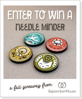 Giveaway Needle Minder Embroidery Giveaway SeptemberHouse