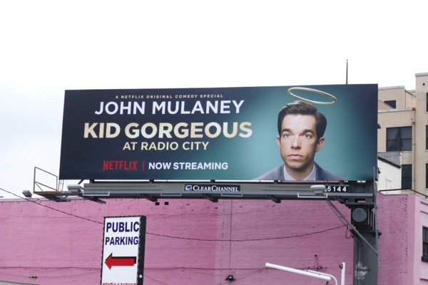 John Mulaney Kid Gorgeous billboard