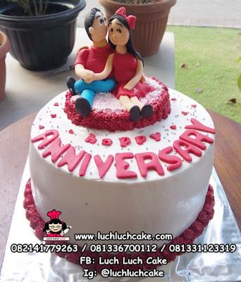 Kue Tart Anniversary Romantis Untuk Pacar