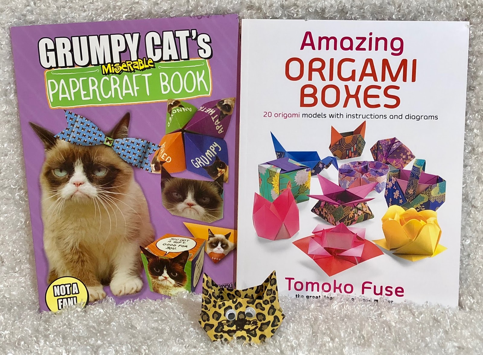 Stacy Tilton Reviews From Paper To Yarn Crafting Is A Great Stress Origami Boxes Tomoko Fuse S Reliever