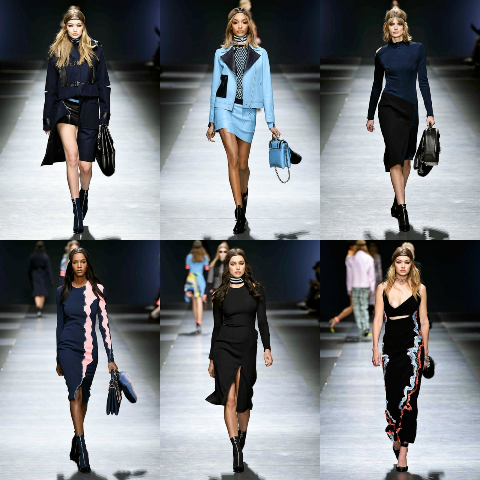 Eniwhere Fashion - sfilate - Milano Fashion Week - Versace