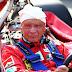 Morre aos 70 anos o lendário tricampeão da Fórmula 1 Niki Lauda