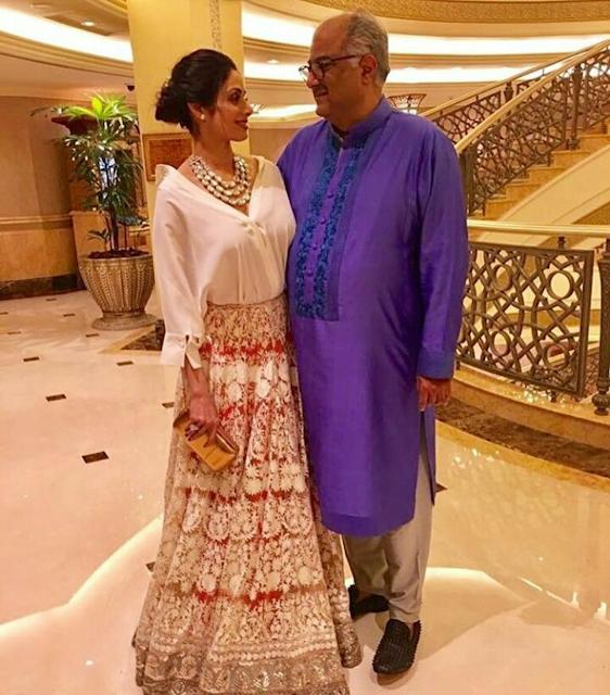 Sridevi Kapoor In Manish Malhotra