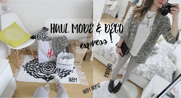 haul d co mode express h m home h m et mango. Black Bedroom Furniture Sets. Home Design Ideas