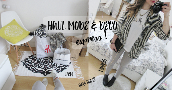 haul d co mode express h m home h m et mango pauline dress blog mode lifestyle et. Black Bedroom Furniture Sets. Home Design Ideas