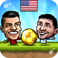 Tải Game Puppet Soccer 2014 Big Head Football Hack Tiền Cho Android