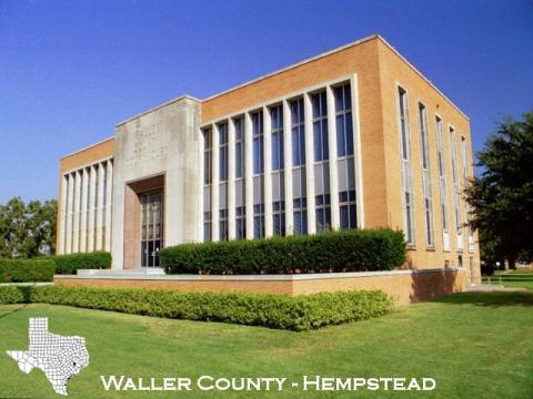Waller County Constable Glenn White