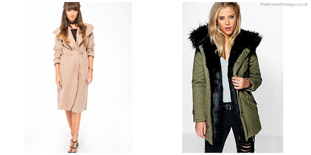 winter coats, fashion, Miss Pap, Boohoo