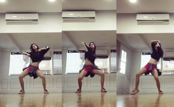 disha patani dance moves