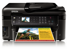 Epson Workforce WF-3520 Printer Driver Download