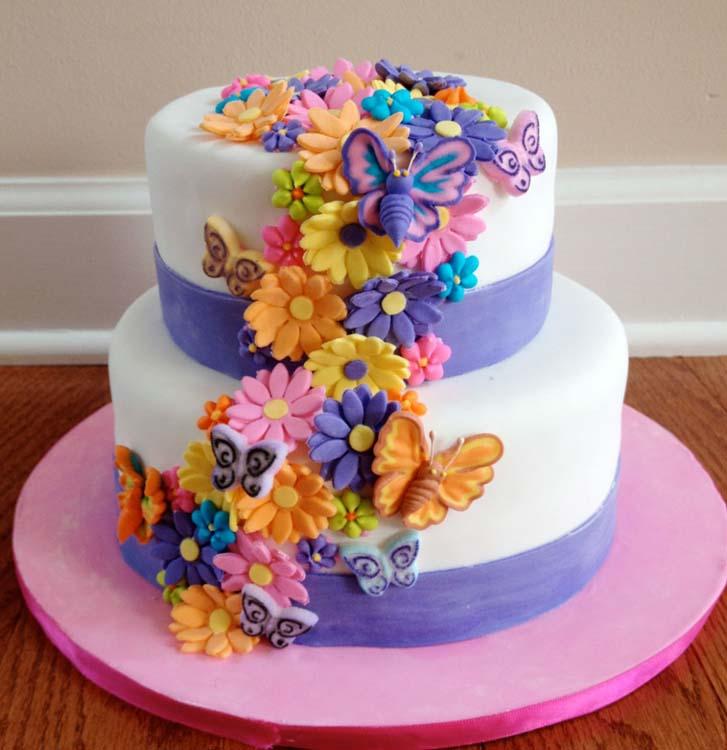 Birthday Cake Flowers Flower Cakes Photo Ideas Prayface