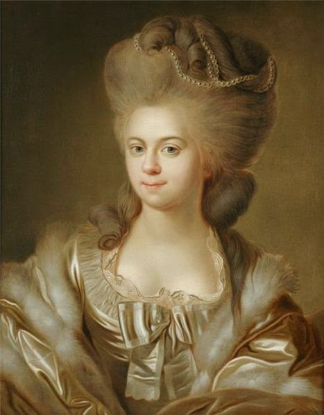 Elisabeth of Württemberg by Johann Baptist von Lampi the Elder