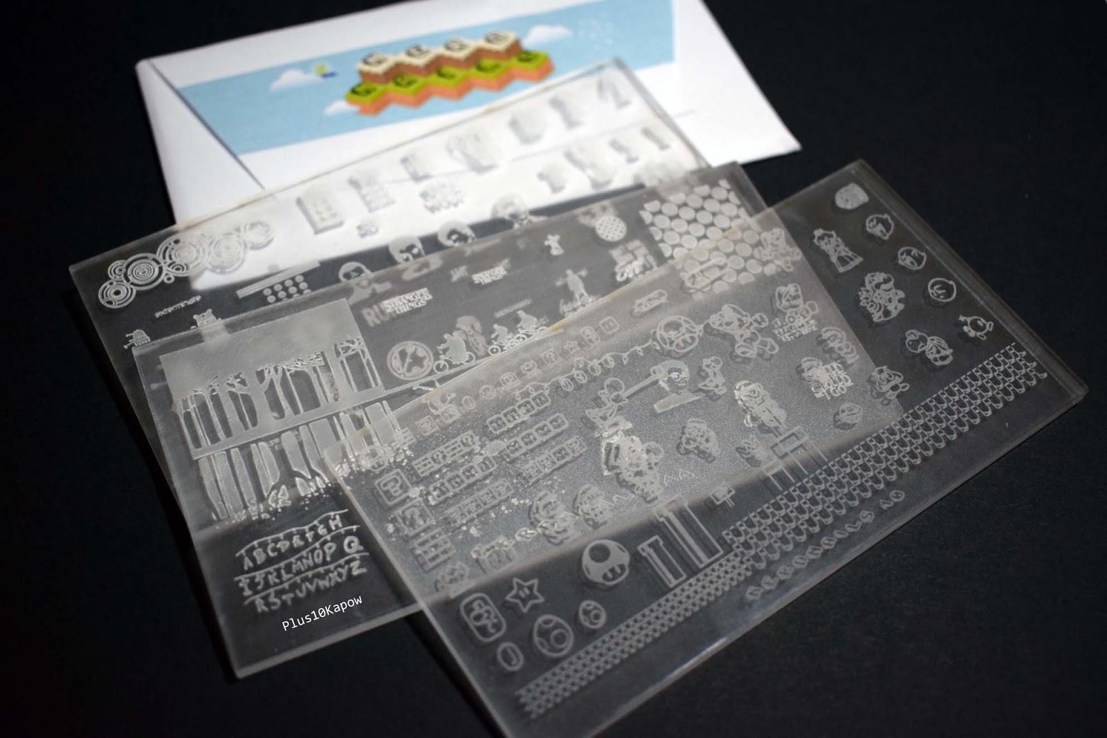 Plus10Kapow: Nerd Nails Acrylic Stamping Plates