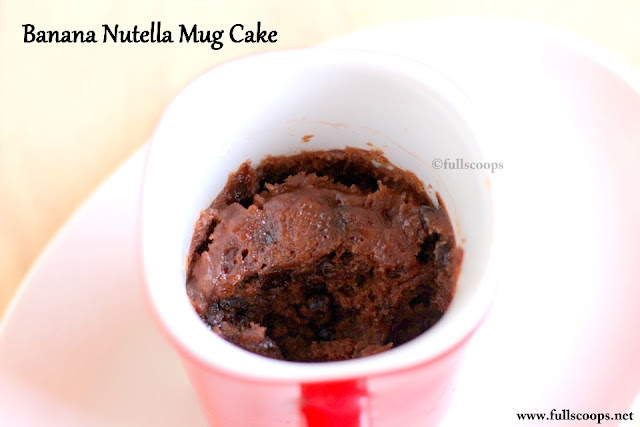 Banana Chocolate Mug Cake Calories