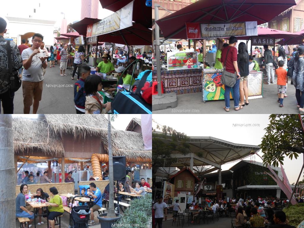 Suasana pengunjung FKs 2014