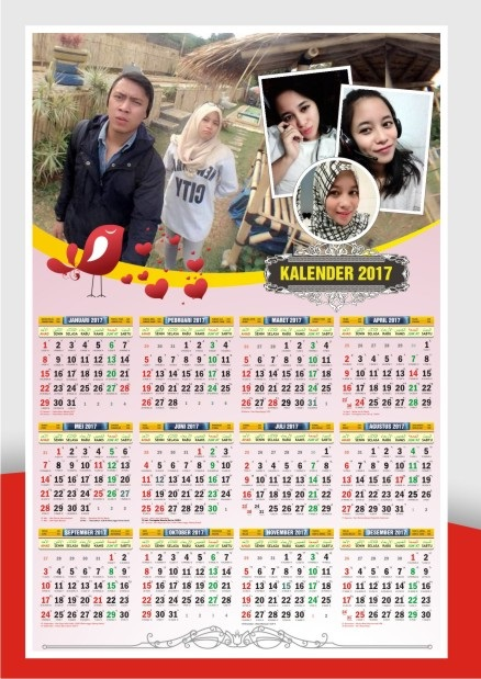 0852-2999-2508 KALENDER 2018 POSTER FOTO PRIBADI ...