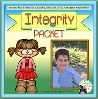 Integrity Character Education - Social Skills Teaching Packet