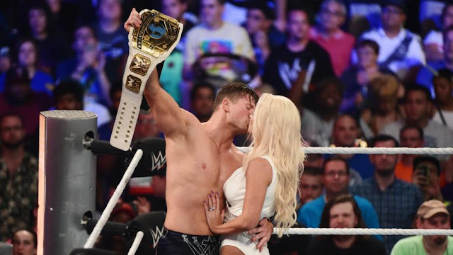 The Miz demeure le Champion Intercontinal de la WWE