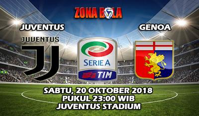 Prediksi Bola Juventus vs Genoa 20 Oktober 2018