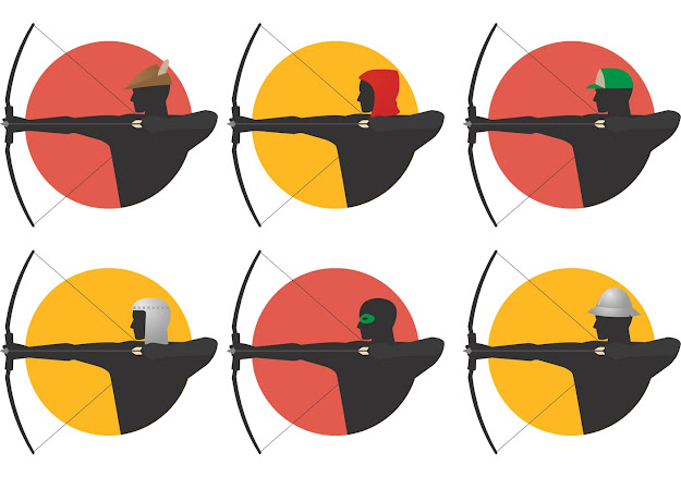 Archer Vectors Archery