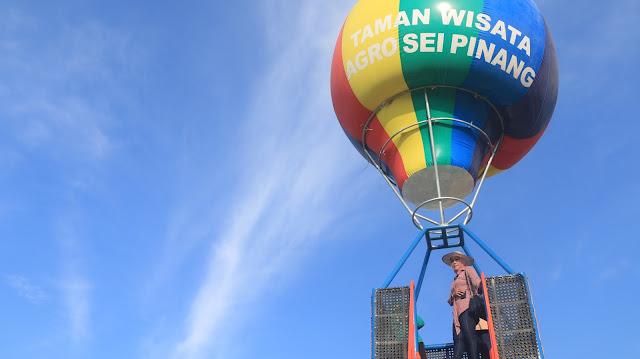 Balon TErbang wisata sungai pinang