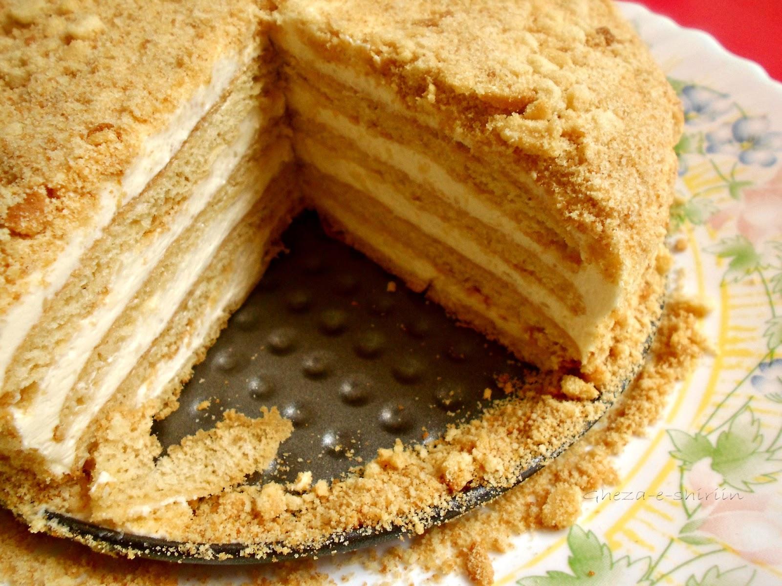 Honey Butter Cake Recipe