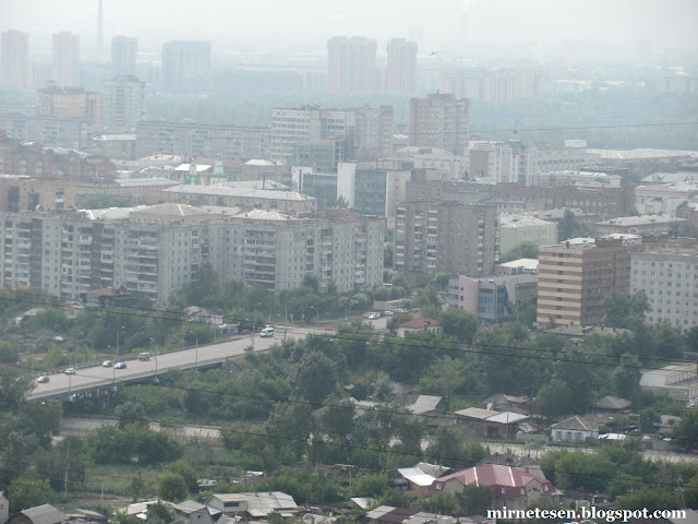 Красноярск - Смотровая площадка у часовни Параскевы-Пятницы