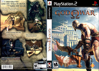 Jogo God Of War PS2 DVD Capa