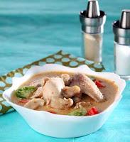 Resep Cara Memasak Sup Ayam Tomat Kuah Santan