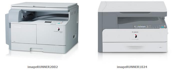Canon imageRUNNER 1024 and imageRUNNER 2002