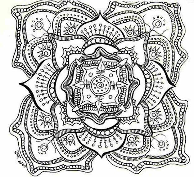 Coloring Christian Mandala  Yahoo Image Search Results