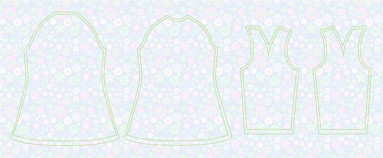 e2ad76157 Fábrica de sueños : DIY Costura: Cómo hacer un vestido manga ranglan ...