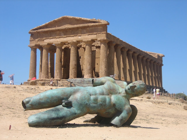 Valle de los Templos en Agrigento