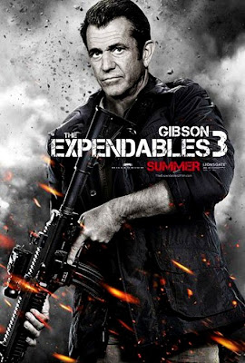 The Expendables 3 Mel Gibson Fan Made Poster