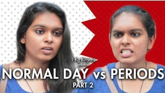 Normal Day vs Periods | Part 2 | With English subs | 1 Kg Biriyani